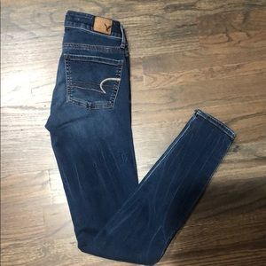 American Eagle Jegging jeans. Size 0 long